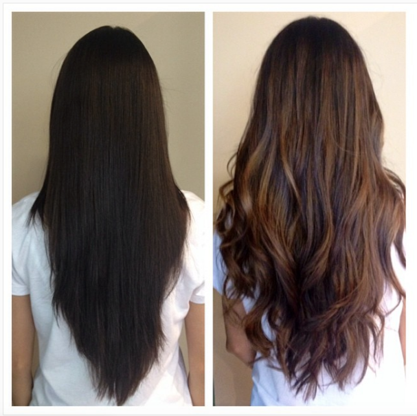 Black To Brown Hair Design – How to Make Your Dark Hair Look Lighter With One Easy Color Change!