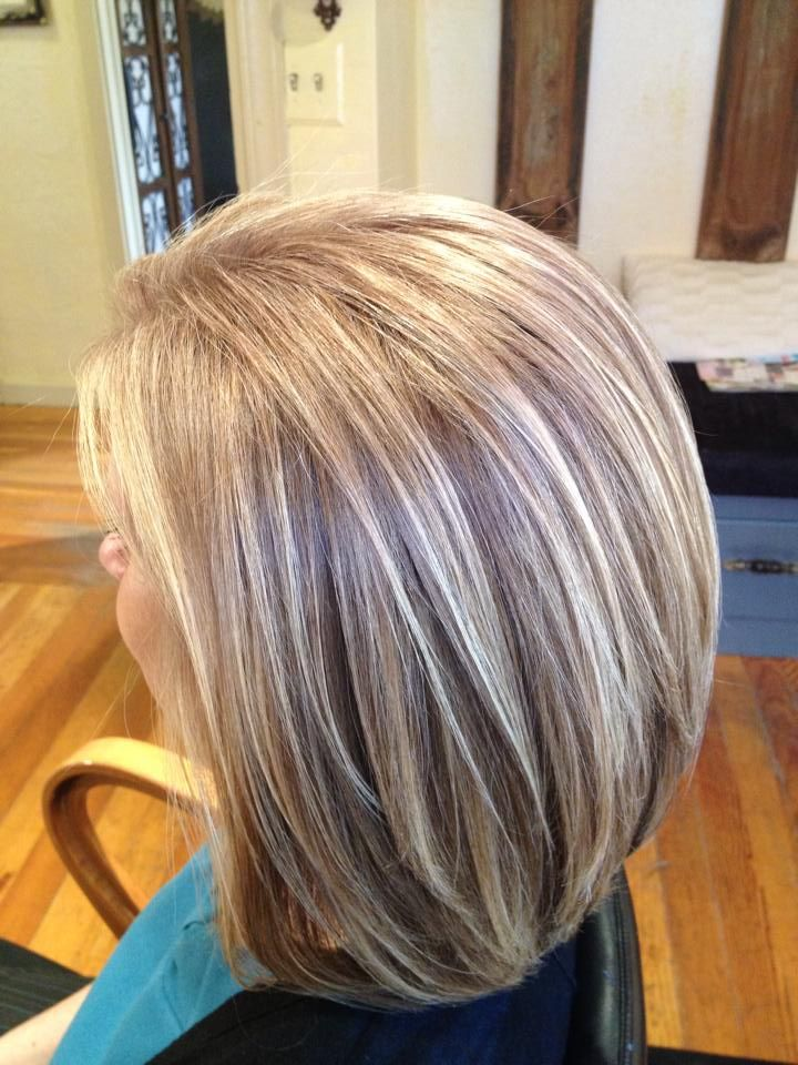 Blending Gray Hair With Highlights Is Now Very Easy To Do