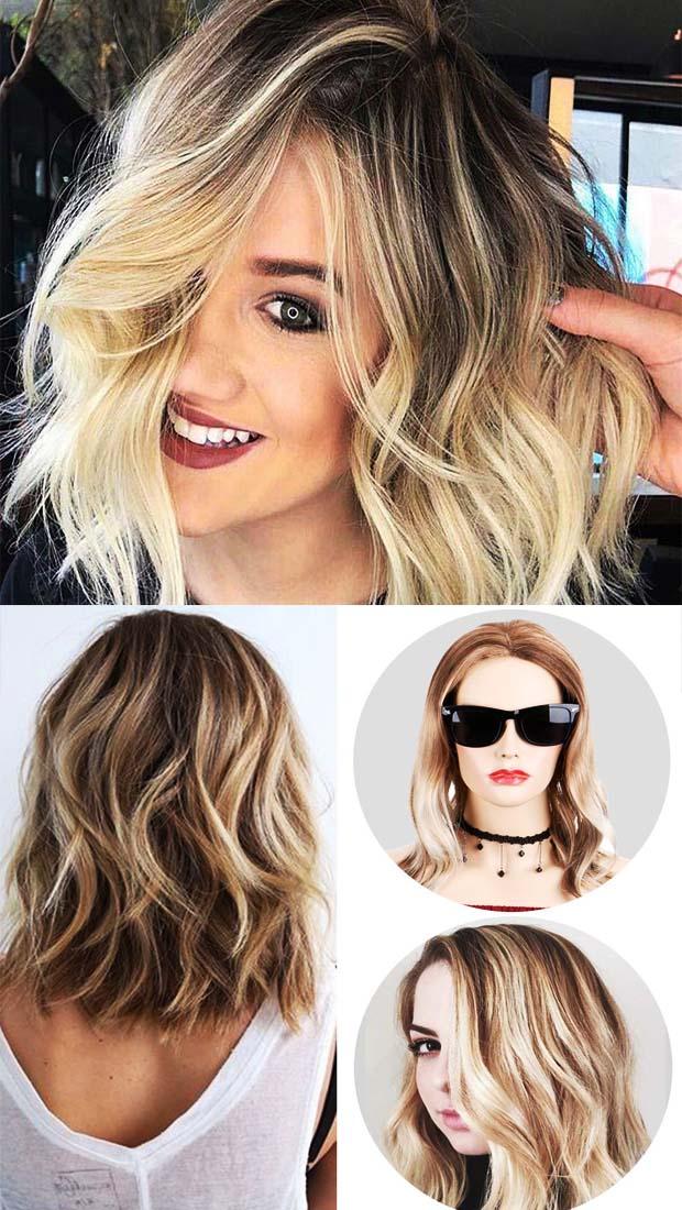 Blond Ombre Short Hair Design Ideas – Easy Design Changes For Women