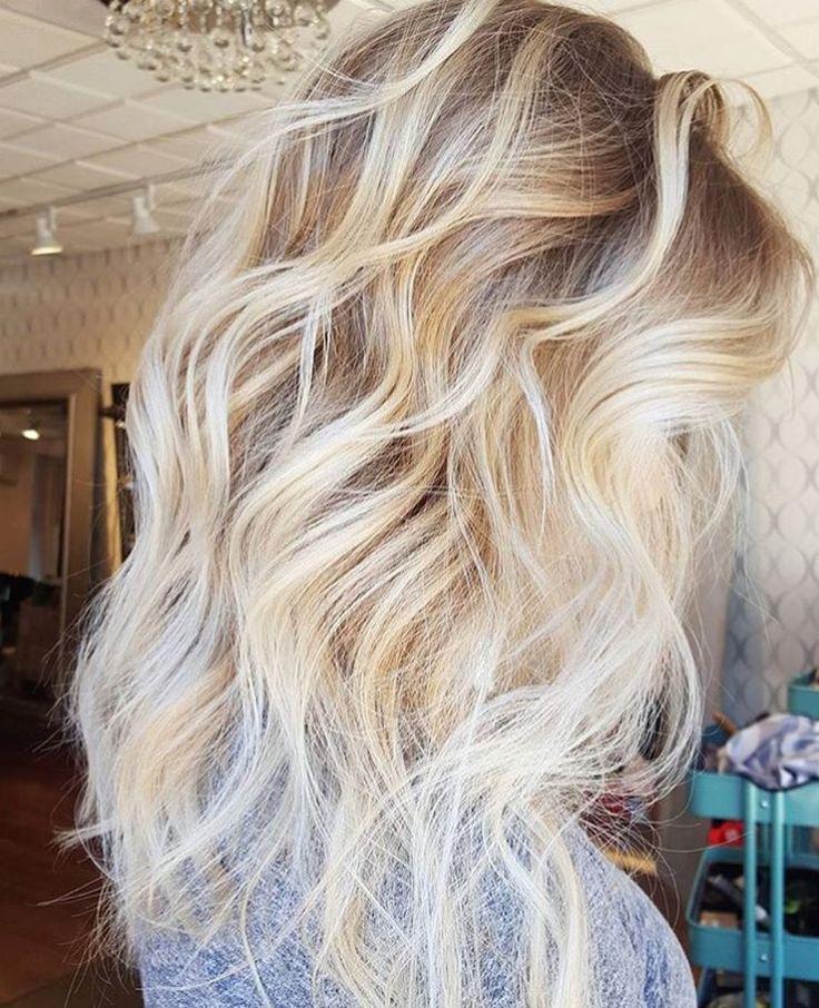 Latest Model – Blonde Wavy Hair