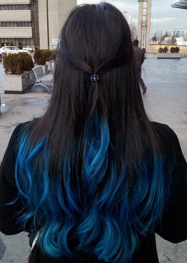 Blue Tips Hair Designs – Styles That Can Make You Stand Out