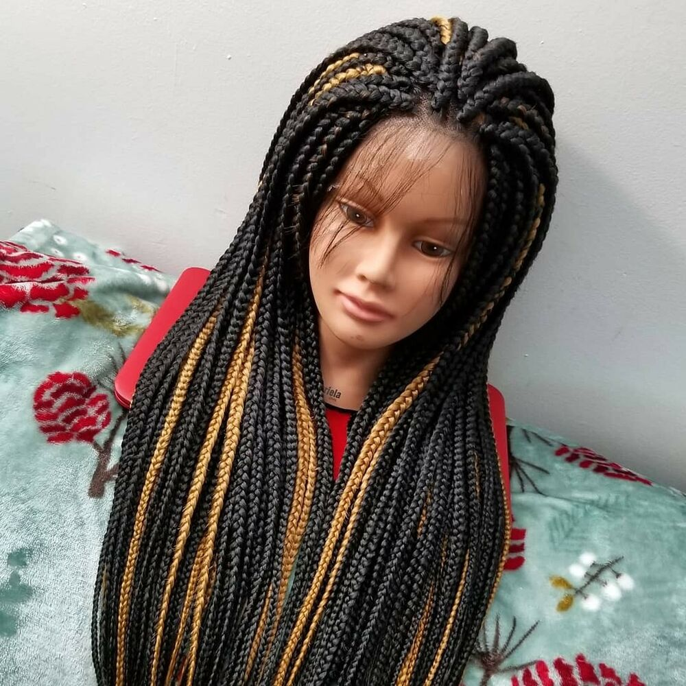 What's Your Favorite Box Braid Wig Style Today?
