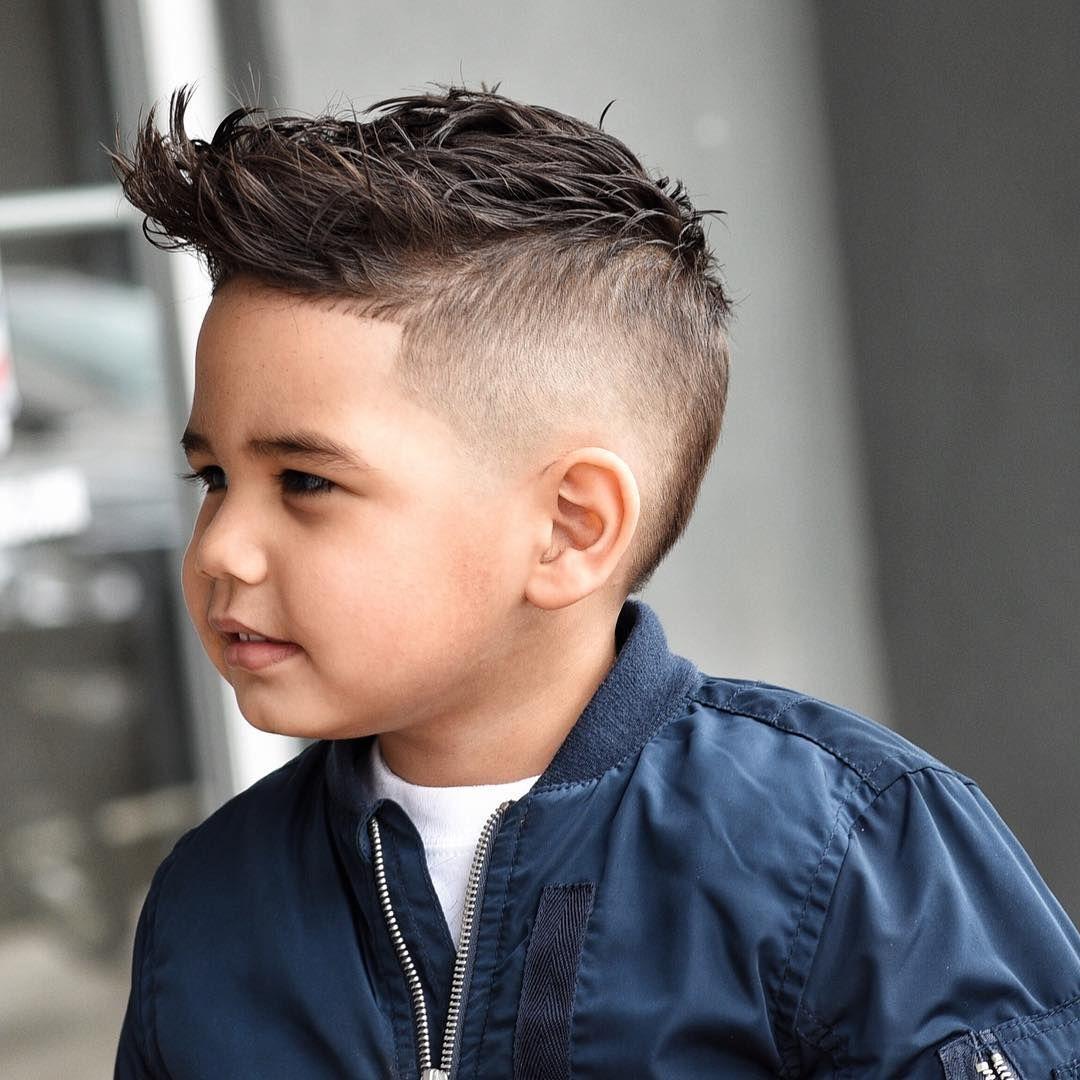 Boys Trendy Haircuts Design