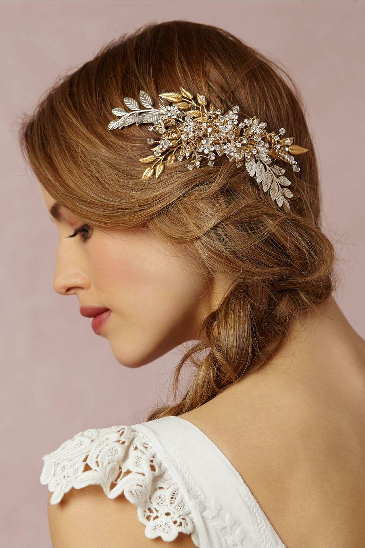Bridal Hair Accessories Design – Crystal Vines