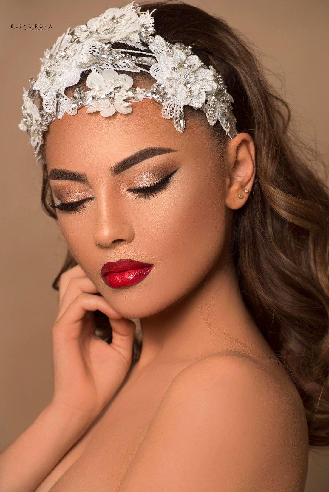 Bridal Hair and Makeup Design Ideas