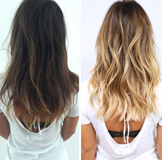 How to Change That Color From Brunette to Blonde Hair
