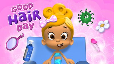 Bubble Guppies Good Hair Day Design for Winter