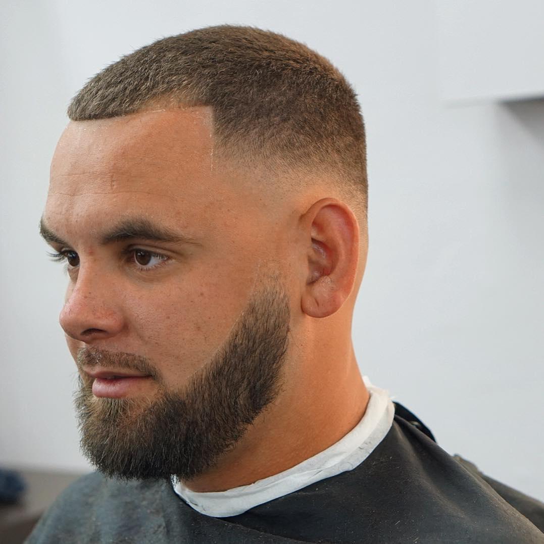 Buzz Cut Receding Hairline