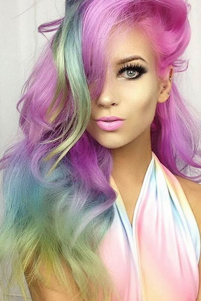Cotton Candy Hair Styles – Simple and Fun!