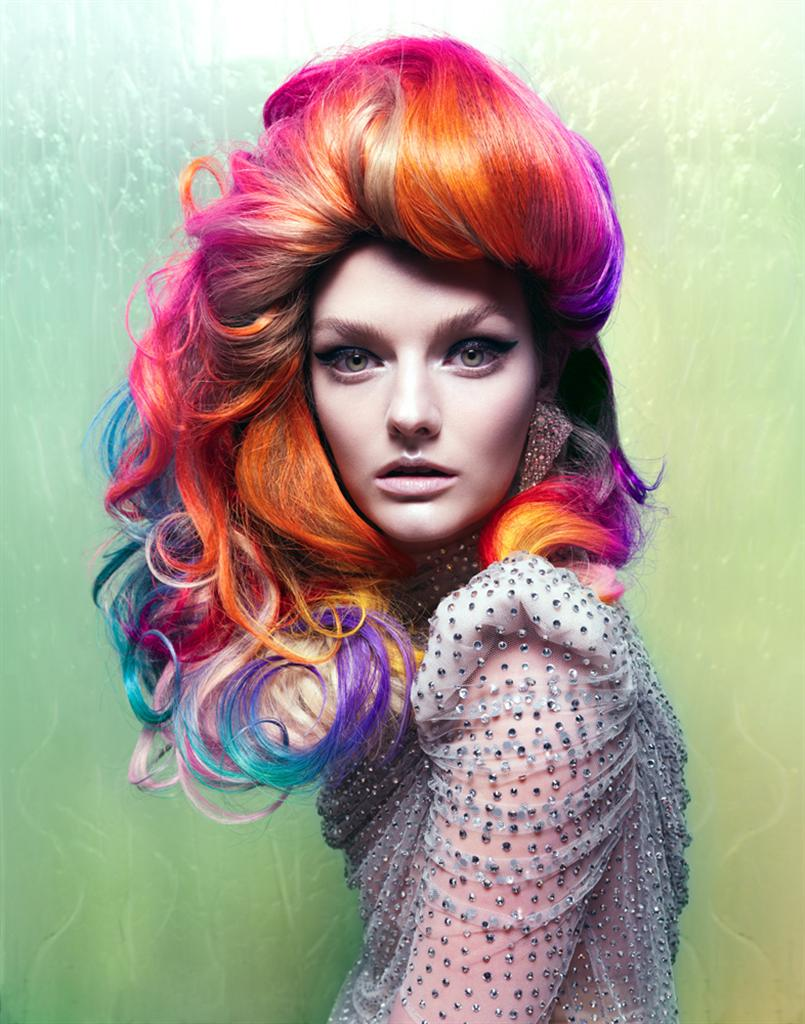 Crazy Hair Colors and Beautiful Styles