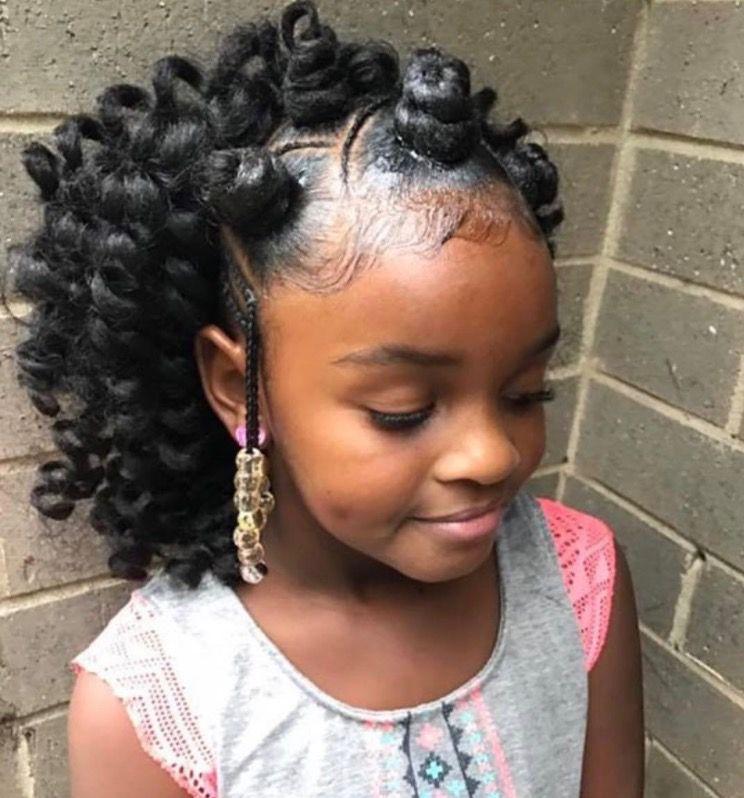 Attractive Crochet Hair For Kids