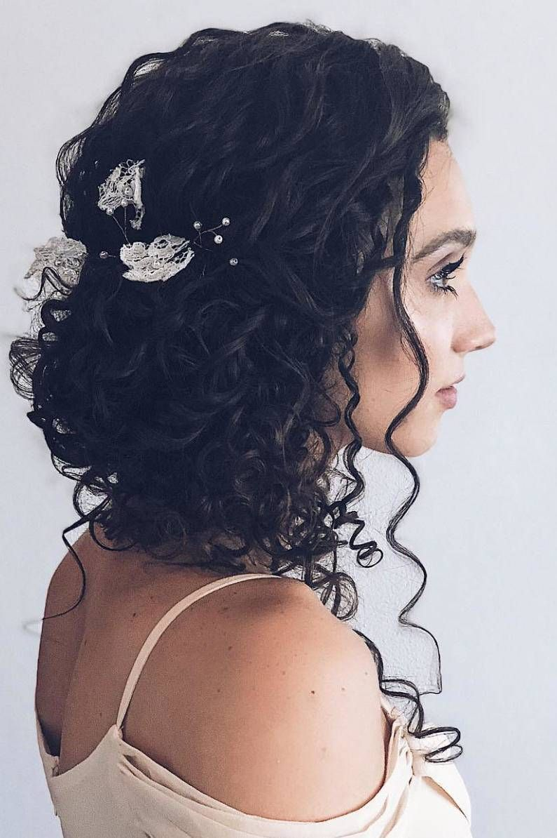 Latest And Best Curly Hair Wedding Styles