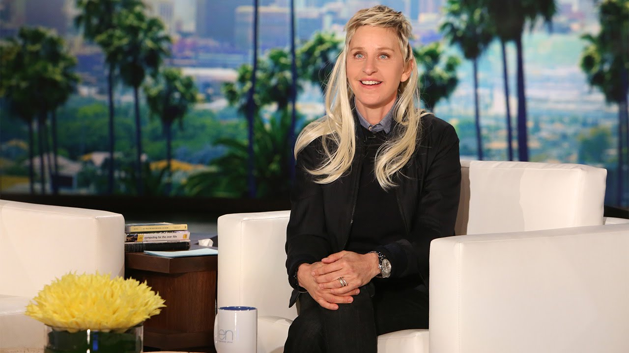 6 Celebrity Ellen DeGeneres Long Hair Styles