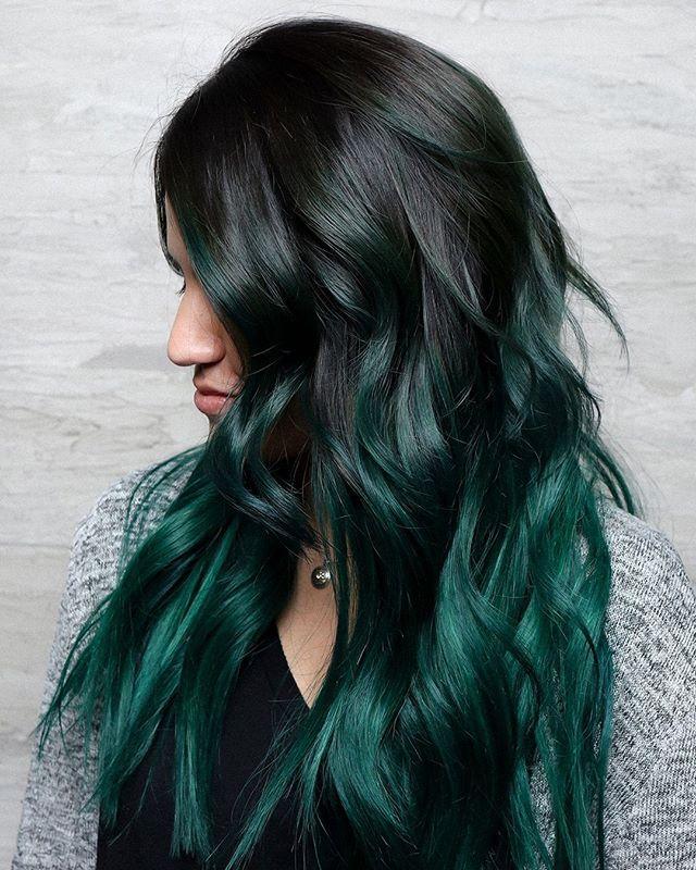 Emerald Hair Various Popular Model ideas