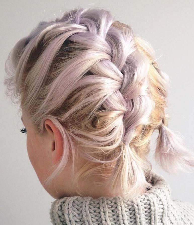 French Braid Short Hair Design – 3 Fantastic Model Ideas
