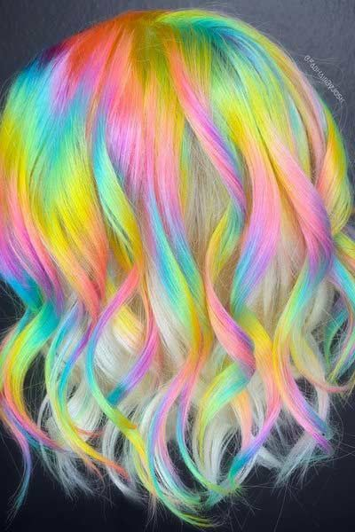 Glitzy Hair Design Ideas