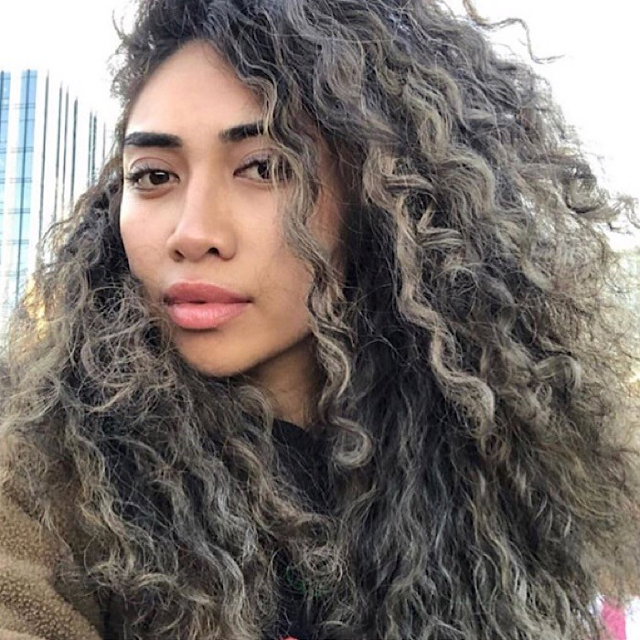 Beautiful Hair Color for Curly Hair