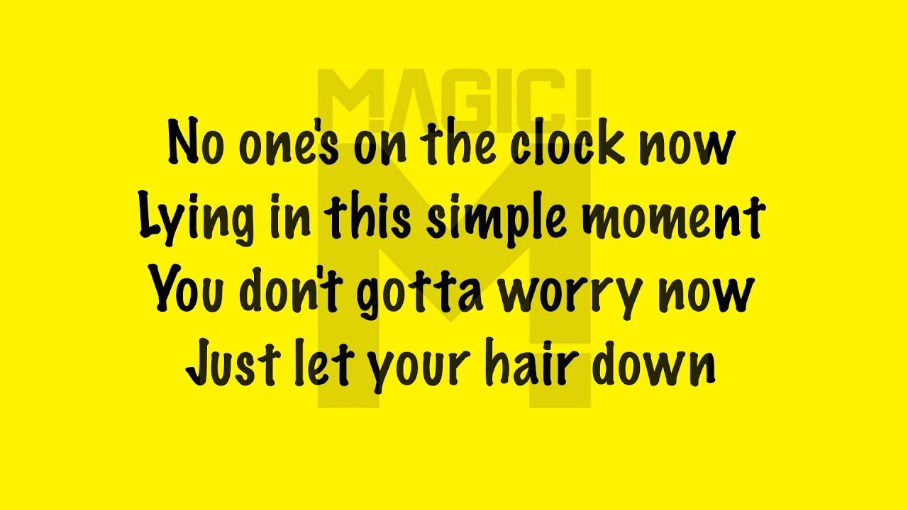 Hair Down Lyrics