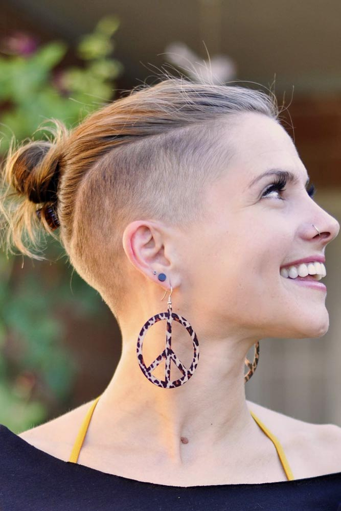 Half Shaved Hair – Perfect For Guys on the Go