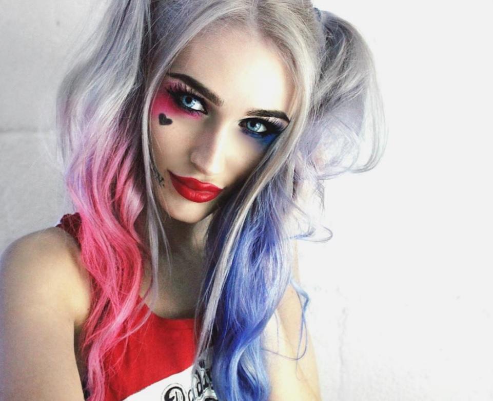 The Latest Harley Quinn Hair Cut