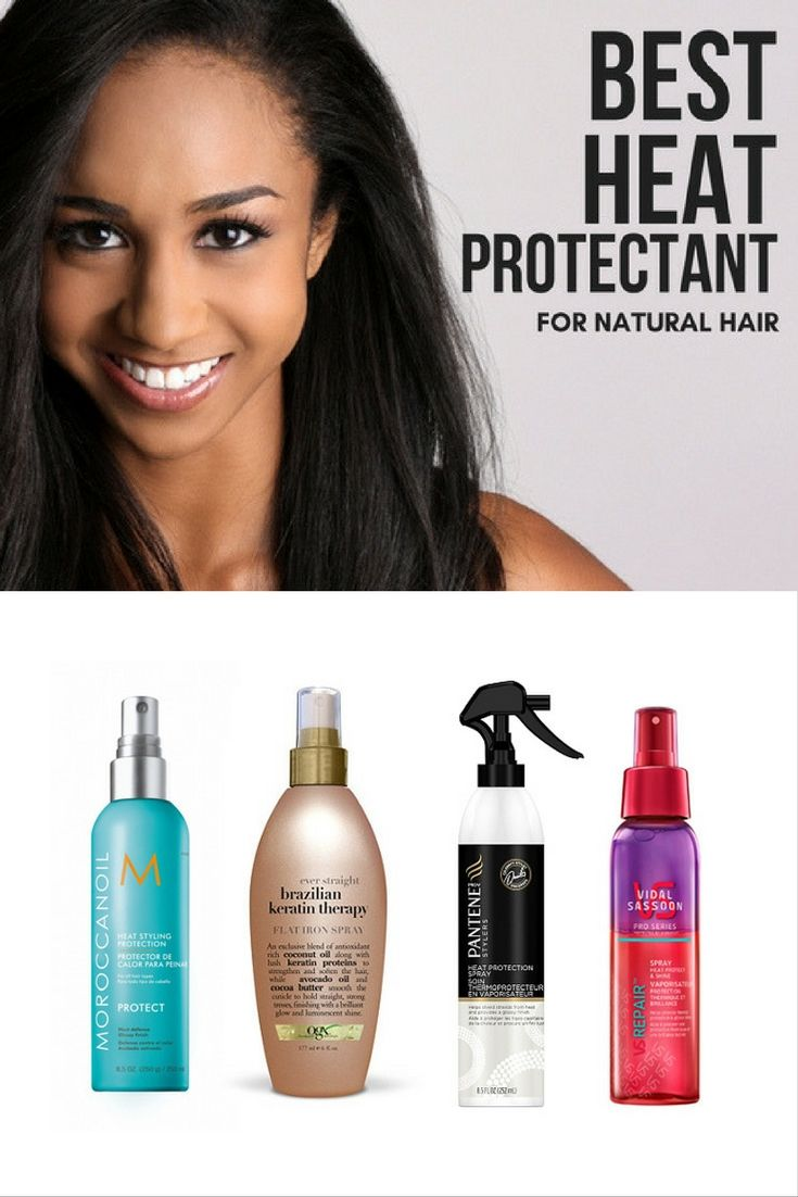 Model Ideas – How to Heat Protectant Natural Hair