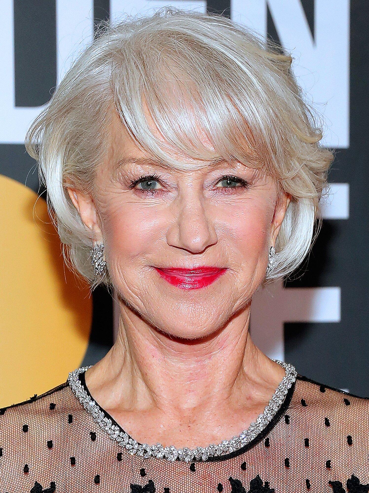 Round Up of Famous Helen Mirren Hair Styles