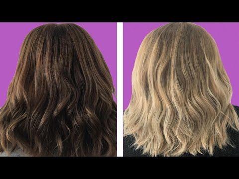 Model Ideas – Hydrogen Peroxide to Lighten Hair
