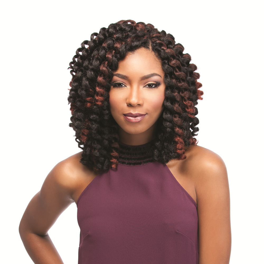 """Create Your Own Personal Trendy Design – The """"Jamaican Bounce Crochet Hair"""" Is the Hottest Newest!"""