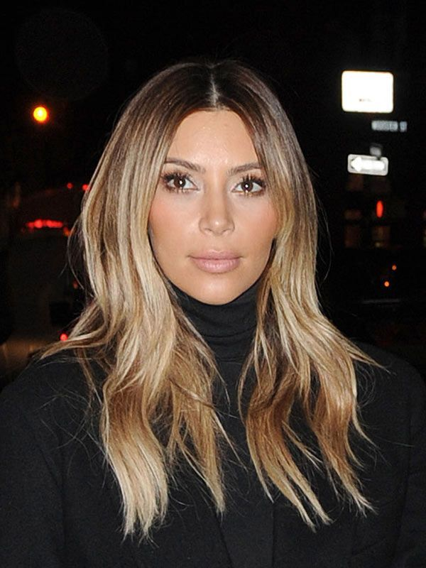 Styles of Celebrities – Kim Kardashian Blonde Hair Design