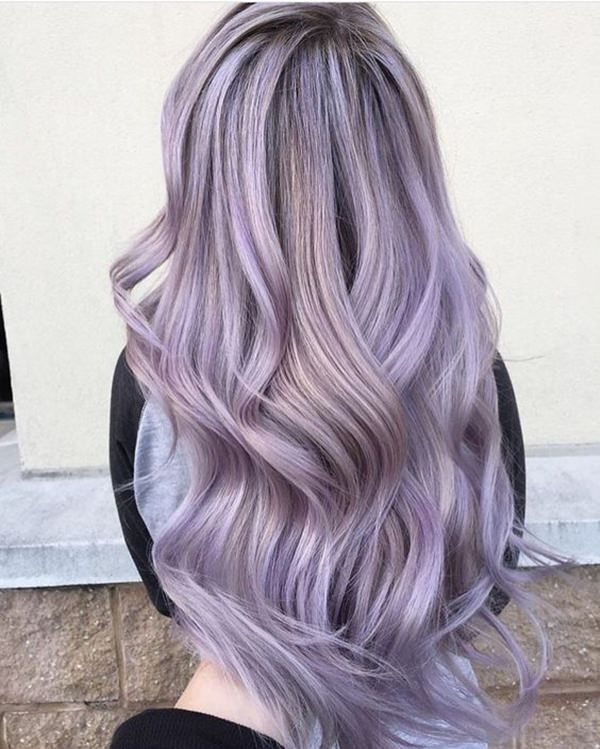 Some Of The Most Popular Styles For Lovely Lilac Hair Color
