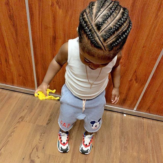 Cute Little Boy Braid Hairstyles