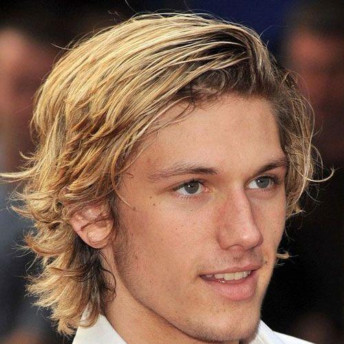 Model Ideas For Long Blonde Hair Men