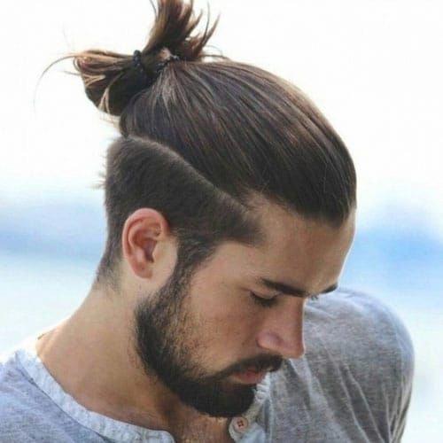 Popular Long Hair Short Sides Design Ideas