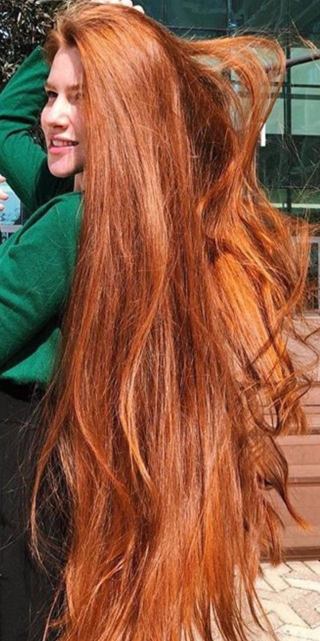 Latest Model – Long Red Hair Style For Today's Trendier Woman