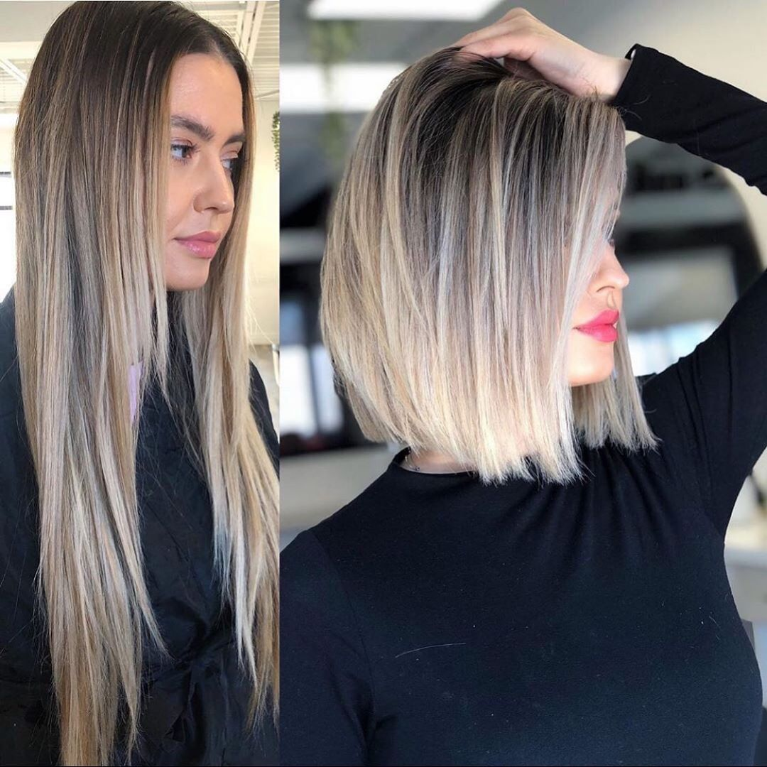Long To Short Hair Model Ideas