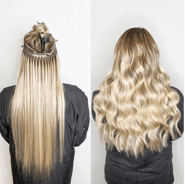Micro Ring Hair Extensions – Latest Style For Women With Short Hair