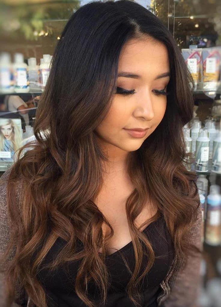 Chocolate Mocha Hair Color