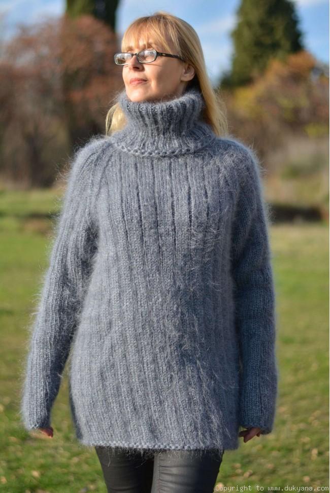 Modern Design Ideas For the Mohair Sweater
