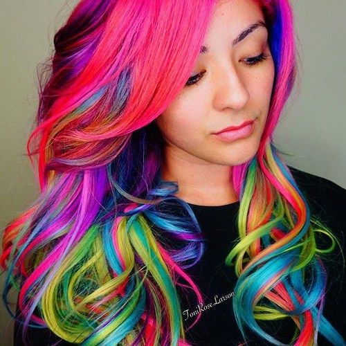 3 Styles For People With Multi Color Hair Systems
