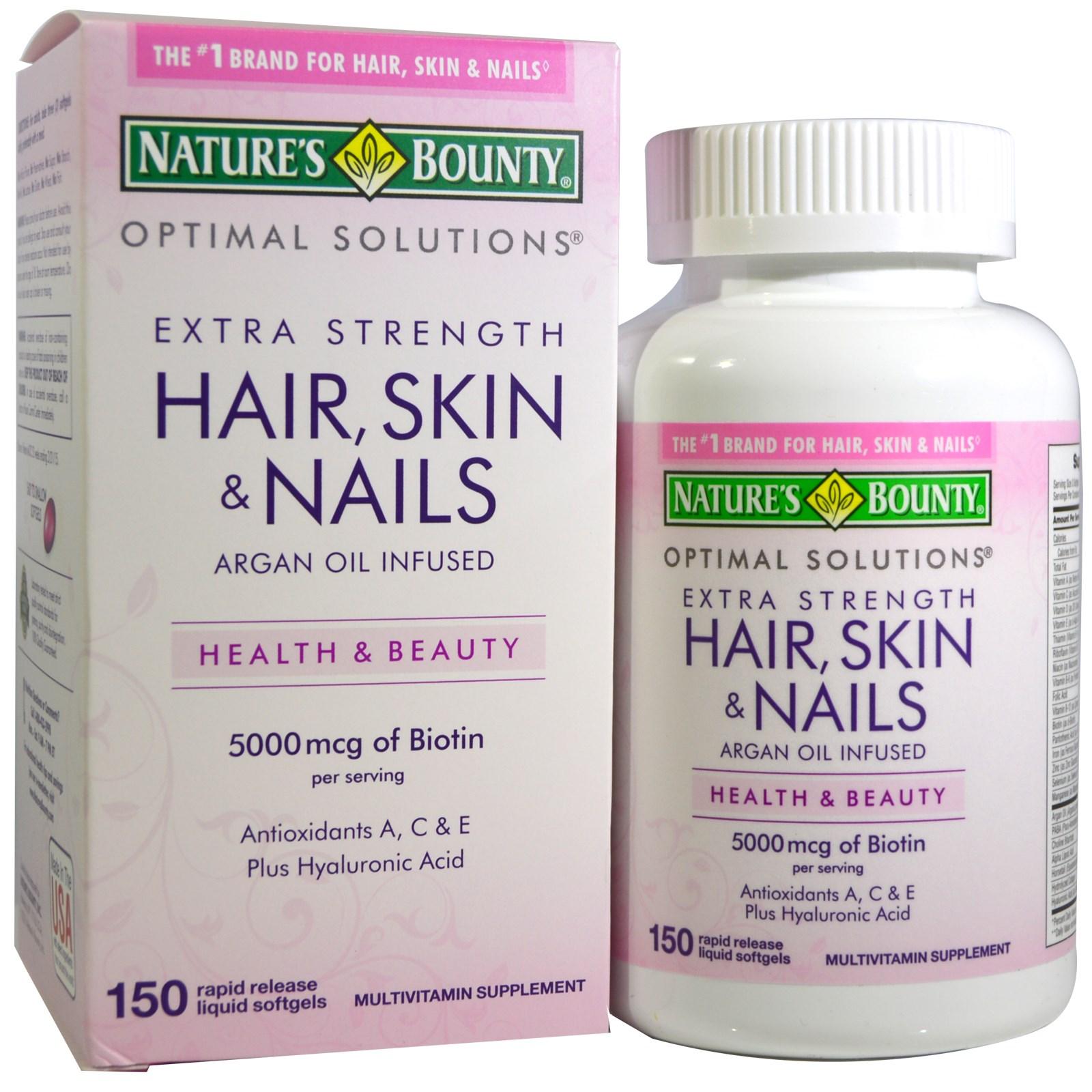 Top 10 Best Natures Bounty Hair Skin Nails Design Ideas