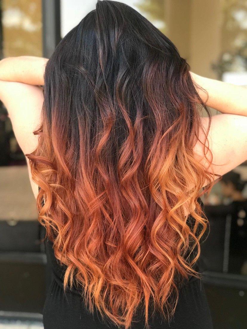 Top 3 Beautiful Styles For Orange Brown Hair