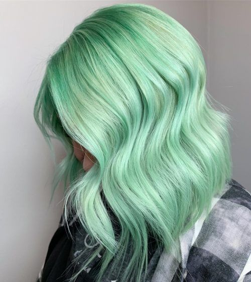 Pastel Green Hair Styles – Find the Hottest Designs