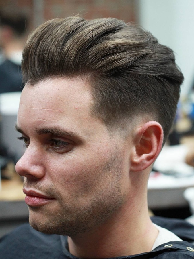 Pompadour Hairstyle – Men's Styles