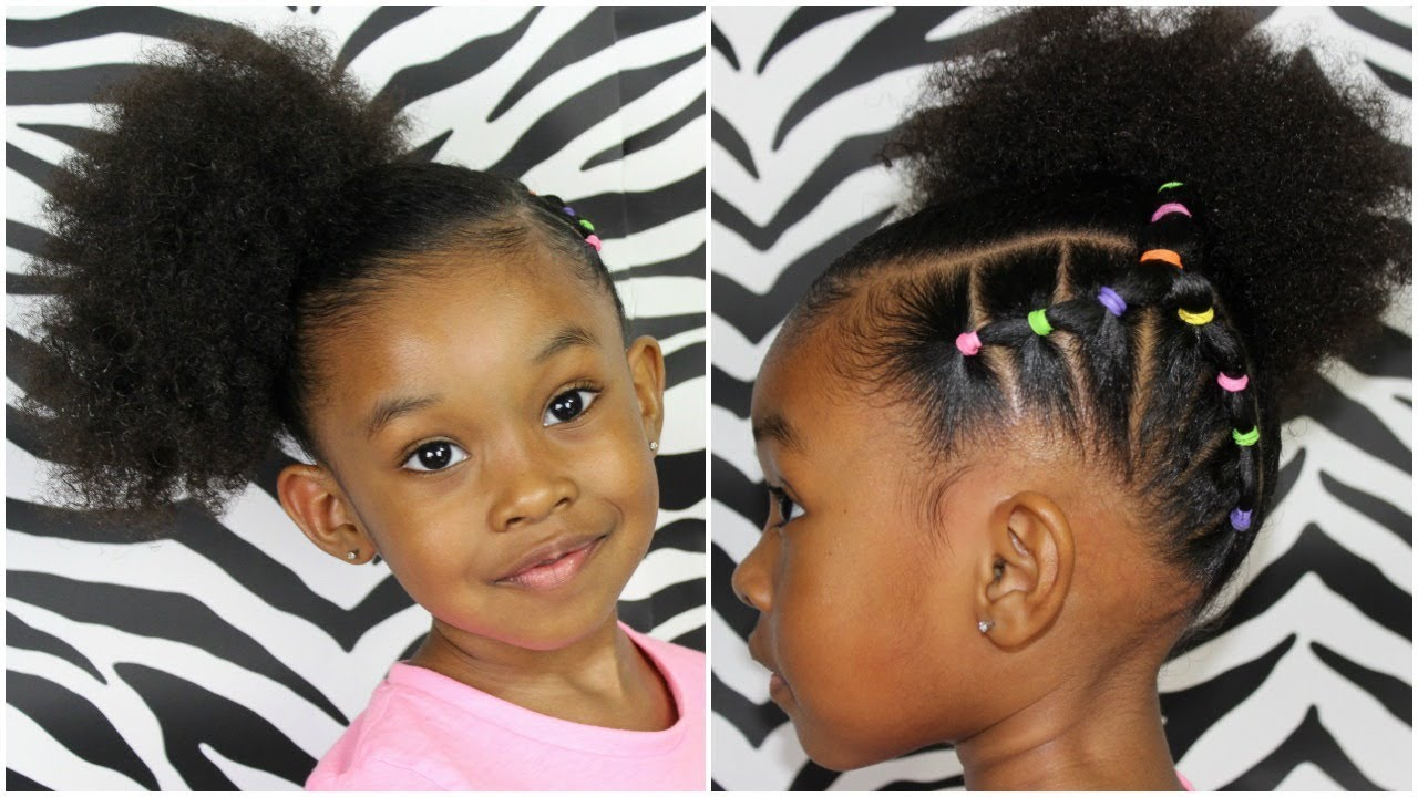 Looking Great With Ponytail Styles For Kids