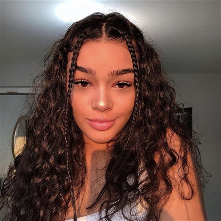 Styles For Pretty Girls With Curly Hair