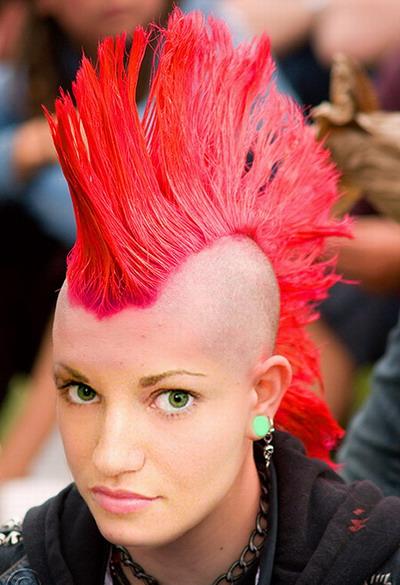 7 Best Punk Hair Design Ideas