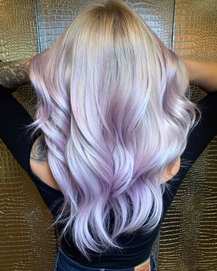 Purple Blonde Hair – Fantastic Design Idea!