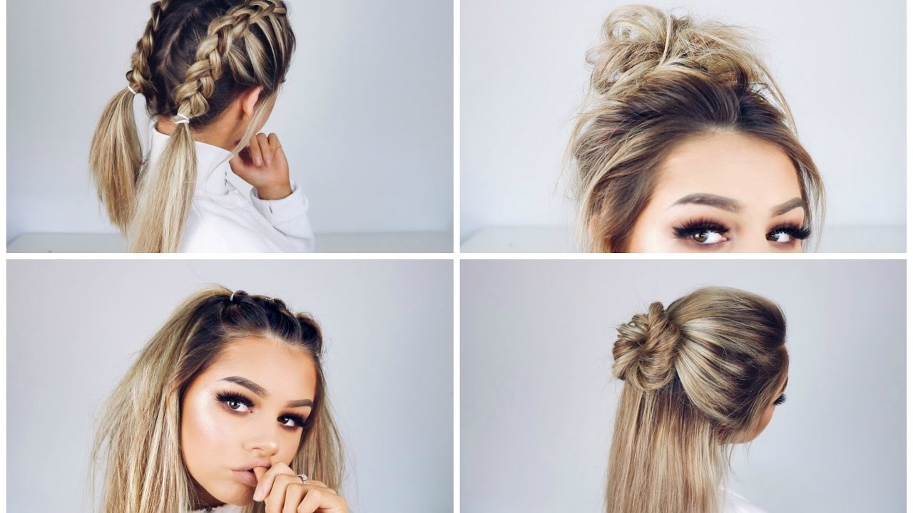 Quick Easy Hairstyles For Teens