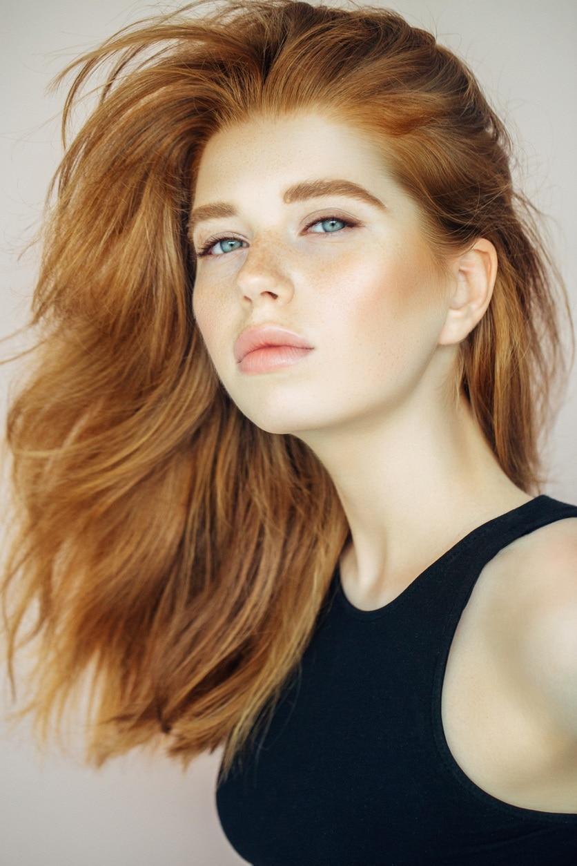 Modern Design Ideas For Red Blond Hair
