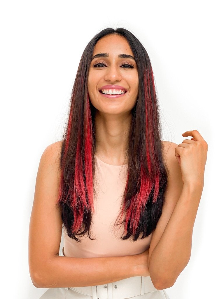 Red Streaks in Hair – Easy Design Ideas to Stop This Red Color Strain!